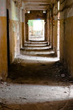 Old and abandoned corridor Royalty Free Stock Photo