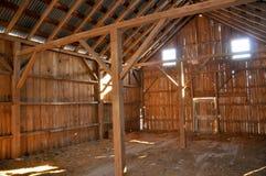 Old Abandoned Dairy Farm Stock Image