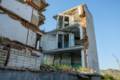Old abandoned derelict building Royalty Free Stock Images