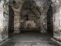 Old abandoned dungeons or catacombs. Stock Images