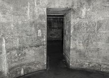 Old abandoned dungeons or catacombs. Stock Image