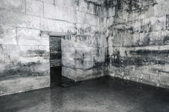 Old abandoned dungeons or catacombs. Royalty Free Stock Photography