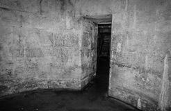 Old abandoned dungeons or catacombs. Royalty Free Stock Images