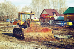 Old abandoned excavator Royalty Free Stock Photography