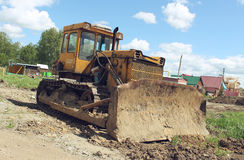 Old abandoned excavator Stock Image