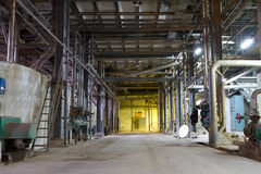 Old Abandoned Factory Stock Photos