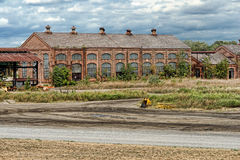 Old Abandoned Factory Building Royalty Free Stock Photography