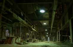 Old abandoned factory Royalty Free Stock Photography