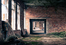 Old abandoned factory Royalty Free Stock Images