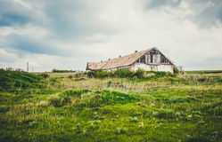 An old abandoned farm Stock Photography