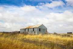 Old abandoned farm in field. Australia, Victoria Stock Photos