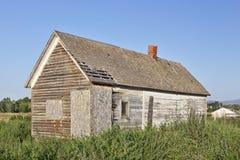 Old abandoned farm house Stock Photos