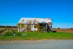 Old Abandoned Farm House Royalty Free Stock Photo