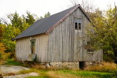Old abandoned farm house, Norway Royalty Free Stock Photography