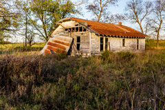 An Old Abandoned Farm House Royalty Free Stock Image