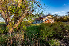 An Old Abandoned Farm House Stock Photography