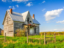 Old abandoned farm house Stock Photos