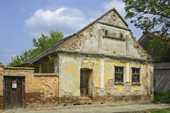 Old abandoned farmhouse Stock Images