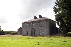 Old abandoned farmhouse in Longford Royalty Free Stock Photos