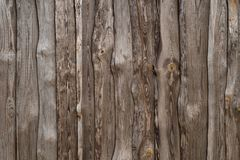 Old abandoned fence with beautiful wooden texture as background. The Old abandoned fence with beautiful wooden texture as background Royalty Free Stock Photo