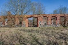 Old, abandoned and forgotten barn Royalty Free Stock Photography