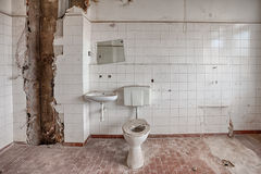 Old, abandoned and forgotten building royalty free stock photography