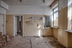 Old, abandoned and forgotten building Stock Photography
