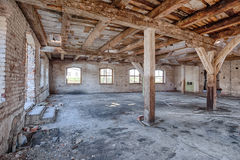 Old, abandoned and forgotten building Stock Image