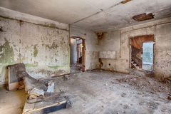 Old, abandoned and forgotten building Royalty Free Stock Image