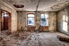 Old, abandoned and forgotten building Royalty Free Stock Photos