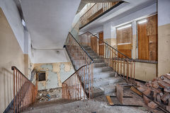 Old, abandoned and forgotten building Stock Images