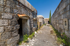 Old abandoned fortress Royalty Free Stock Photography