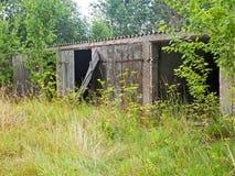 Old abandoned garage Stock Photography