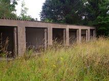 Old abandoned garage Royalty Free Stock Image