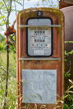 Old abandoned gas pump Royalty Free Stock Photo