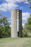 Old abandoned grain silo. Royalty Free Stock Photos
