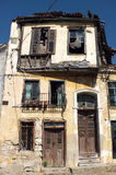 Old abandoned Greek house in Turkey Royalty Free Stock Images