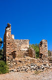 Old abandoned Greek/Turkish village of Doganbey, Turkey Stock Photography
