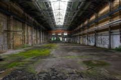 Old Abandoned Hall Stock Image