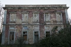 Old and abandoned palaces. Old and abandoned historic palaces Royalty Free Stock Image
