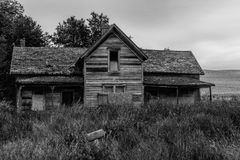 An Old Abandoned Home Stock Image