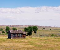 Old abandoned homestead. Royalty Free Stock Images