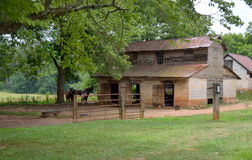 Old Abandoned Horse Stable Barn Royalty Free Stock Photo