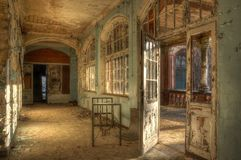 Old abandoned hospital Royalty Free Stock Image