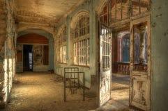 Old abandoned hospital Royalty Free Stock Image