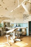 Old abandoned hospital interior Royalty Free Stock Photography