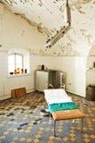 Old abandoned hospital royalty free stock photo