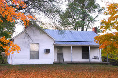 Old Abandoned House. An old abandoned house in early Fall Stock Photography