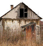 Old abandoned house. Royalty Free Stock Photo