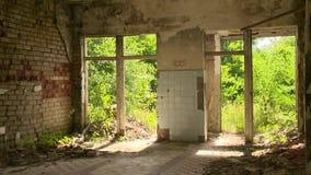Old abandoned house after armageddon